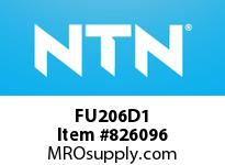 NTN FU206D1 CAST HOUSING
