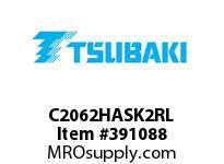 US Tsubaki C2062HASK2RL C2062HAS K-2 ROLLER LINK
