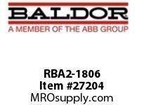 BALDOR RBA2-1806 RBA BRK TRANS & RES 1800W 6 OHMS 1