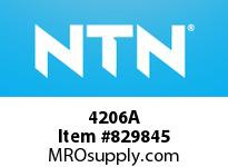NTN 4206A DOUBLE ROW ANGULAR CONTACT