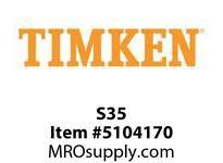 TIMKEN S35 Split CRB Housed Unit Component