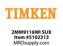 TIMKEN 2MM9116WI SUX Ball P4S Super Precision