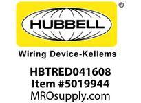 HBL_WDK HBTRED041608 WBPREFORM RADI REDUCER4^Hx16^W TO 8^W