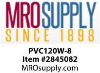 """MRO OPEN ENDS BY WIDTH MATERIAL:PVC120 WHITE C x FS WIDTH: 8"""""""