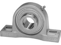 IPTCI SUCSPX06-19 All Stainless Pillow Block Set Screw Lock Medium Duty Bore Dia. 1 3/16^^ Wide Inner Race Insert