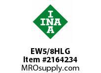 INA EW5/8HLG Thrust ball bearing