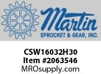Martin Sprocket CSW16032H30 16X32 SD WING H30 LESS BSH