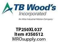 TBWOODS TP250XL037 TP250XL037 SYNC BELT TP