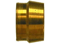 MRO 20382 1/4 POLY-FLO BRASS SLEEVE (Package of 10)