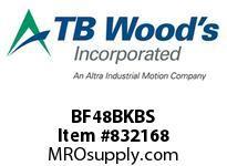 TBWOODS BF48BKBS HUB BF48 CLB - B&K TO SKETCH