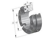 INA AM50 Precision locknut