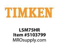 TIMKEN LSM75HR Split CRB Housed Unit Component