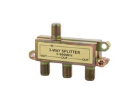 NSI CS-3 THREE WAY COAXIAL SPLITTER