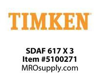 TIMKEN SDAF 617 X 3 SRB Pillow Block Housing Only
