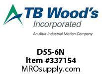 TBWOODS D55-6N NUT