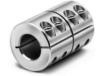 Climax Metal MISCC-12-12-KW 12mm X 12mm ID Stl Split w/key Shaft Coupling