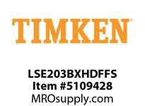 TIMKEN LSE203BXHDFFS Split CRB Housed Unit Assembly