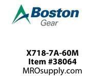 BOSTON 53752 X718-7A-60M 718 INTERM S/A 60:1