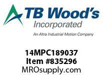 TBWOODS 14MPC189037 14MPC-1890-37 QTPCII BELT