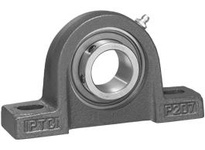 IPTCI SBPL205-14-G Pillow Block Set Screw Lock Low Shaft Height Bore Dia. 7/8^^ Narrow Inner Race Insert