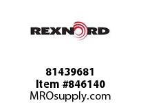 REXNORD 81439681 WX5705-4.5 MTW PT WX5705 4.5 INCH WIDE MOLDED-TO-WIDT