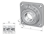 INA PCCJ40 Four-bolt flanged unit