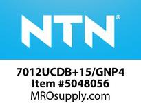 NTN 7012UCDB+15/GNP4 PRECISION BEARINGS PRECISION BALL BEARING