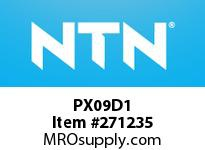 NTN PX09D1 CAST HOUSINGS