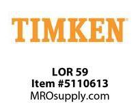 TIMKEN LOR 59 SRB Pillow Block Component
