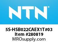 NTN 5S-HSB022CAEX1T#03 PRECISION BALL BRG D<=203.2