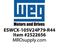 WEG ESWCX-105V24P79-R44 XP FVNR 75HP/460 N79 230V Panels