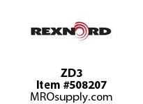 ZD3 DUPLEX HSG & SEAL KIT 6801981