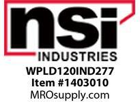 NSI WPLD120IND277 LARGE DEEP WALLPACK 120 WATT INDUCTION 277 VOLT