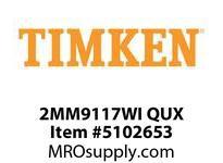 TIMKEN 2MM9117WI QUX Ball P4S Super Precision