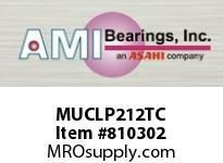 AMI MUCLP212TC 60MM STAINLESS SET SCREW TEFLON LOW SINGLE ROW BALL BEARING