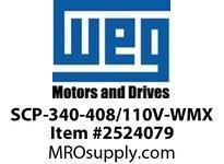 WEG SCP-340-408/110V-WMX START CAP 340-408/110V MEXICO Motores
