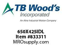TBWOODS 650X425IDL 6.50X4.25 IDLER PULLEY