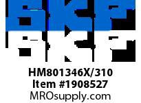 SKFSEAL HM801346X/310 VSM BRGS
