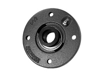 PTI RVFW213-65AMM PILOTED 4-BOLT FLANGE BEARING-65MM RVFW 200 SILVER SERIES - NORMAL DUT
