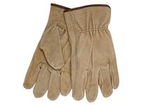 MCR 3110XL Premium Brown Split Driver Glove Keystone Thumb