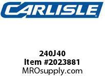 Carlisle 240J40 J Bulk Sleeves