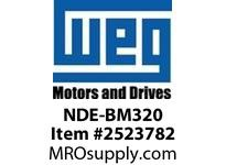 WEG NDE-BM320 NON-DRIVE END END BELL FOR 320 Integrals