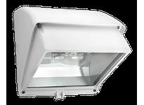 RAB WP1CF32W/PC2 WALLPACK 32W CFL QT HPF CUTOFF LAMP + 277V PC WHITE