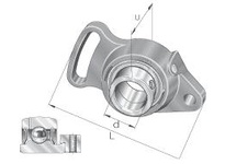 INA PSFT20 Two-bolt pivoting flanged unit