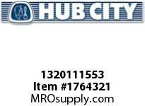 HubCity 1320111553 B350RWX2-11/16 Bearing Insert