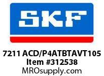 SKF-Bearing 7211 ACD/P4ATBTAVT105