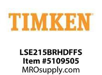 TIMKEN LSE215BRHDFFS Split CRB Housed Unit Assembly
