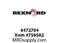 REXNORD 6472704 60-GC5203-01 IDL*20TRGH IMP UEQ R/G