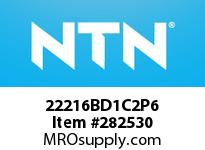 NTN 22216BD1C2P6 SPHERICAL ROLLER BRG D<=203.2