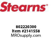 STEARNS 802220300 STOPPLASTIC-SOL LVR-.42D 8036032
